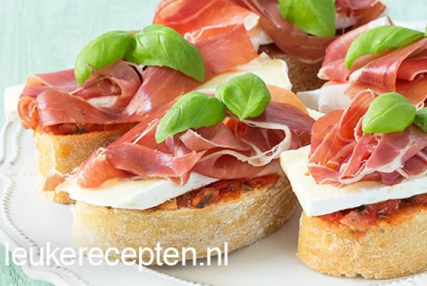 Super Recept voor bruchetta's met brie - Foody.nl @RQ96