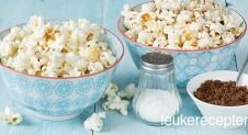 Video: popcorn zoet en zout
