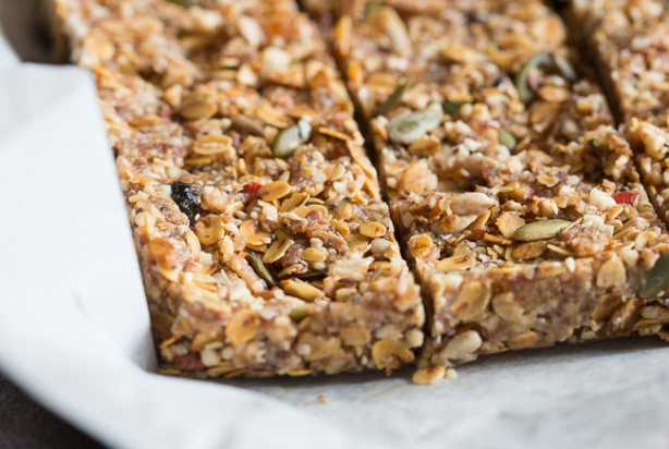 muesli bar recept