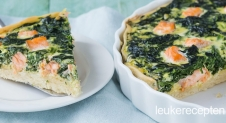 VIDEO: Quiche met spinazie en zalm