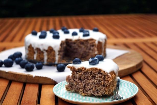 glutenvrije taart Recept voor glutenvrije taart met bosbessen en limoen en  glutenvrije taart