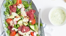 Fresh & Easy: Carpaccio salade