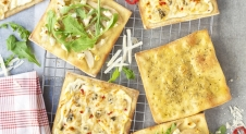 3x mini pizza's zonder vlees