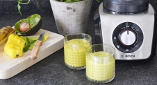 Morningsmoothie avocado en mango (+win de blender!)