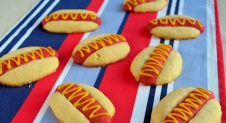 Hot dog koekjes