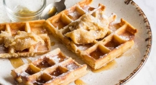 Wafels met gebrande maple boter | Simone's Kitchen
