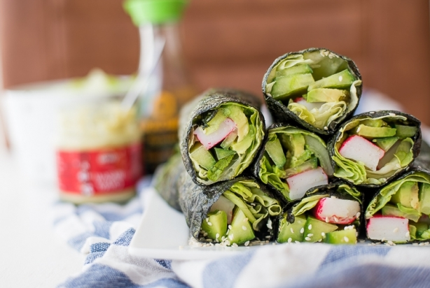 VIDEO: California Nori Wraps