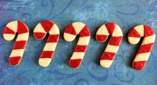 Advent 23: Candy Cane koekjes