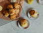 Vegan scones met lemon curd