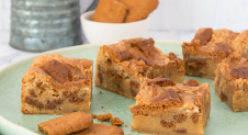 Speculoos blondies