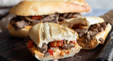 Willy (Philly) Cheese Steak Sandwich