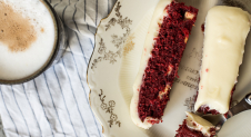 Fastfood Friday: Red velvet & witte chocolatechip repen met creamcheese