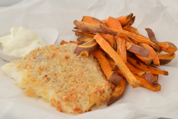 Fast & Fresh: Healthy Fish and Chips uit de oven