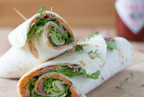 Rosbief wraps
