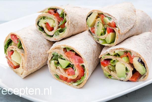 Verbazingwekkend Recept voor lunch wrap met avocado - Foody.nl CA-35