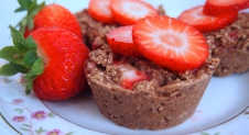Recept: Vegan Strawberry Muffins