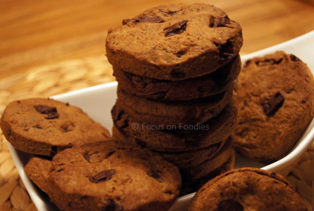 Tarwevrije Chocolate Chip Cookies zonder geraffineerde suikers