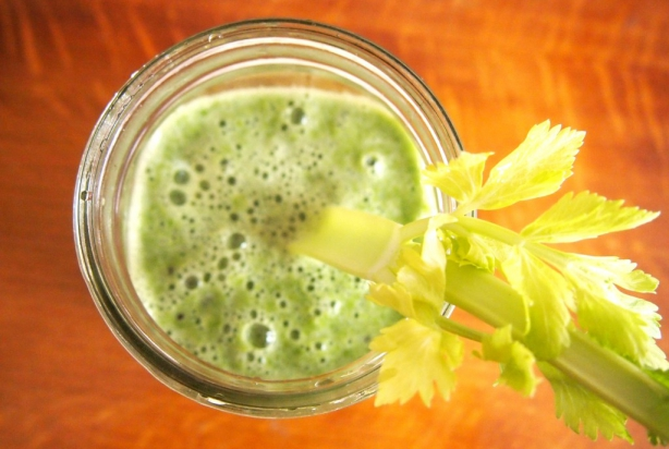 Recept: 'pittige' groene smoothie