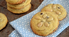 Amandel chocolate chip koekjes
