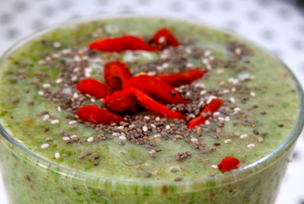 Recept: XXL Green Superfood Smoothie