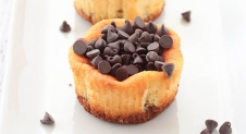 Mini chocolade cheesecakes door Letizia