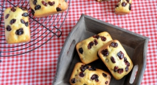 Advent 12: Cranberry muffins recept