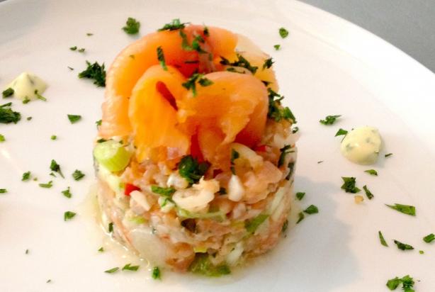 Recept Voor Tartaar Van Zalm Met Limoen Mayonaise Foody Nl