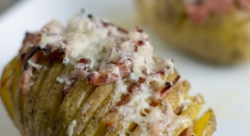 Hasselback Potato