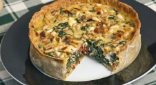 Mini quiche met spinazie