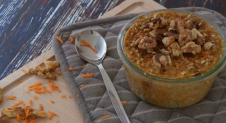 Baked carrot oats