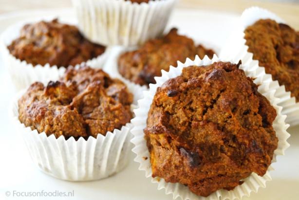 Fonkelnieuw Recept voor appel muffins zonder suiker en gluten - Foody.nl TN-44