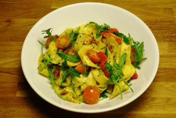 Pappardelle met Rucola