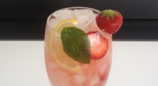 Strawberry Basil Splash