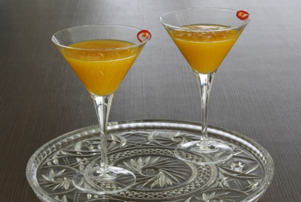 Spicy Mango Martini