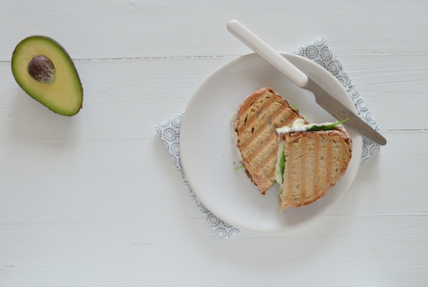 Grilled Cheese Sandwich met geitenkaas