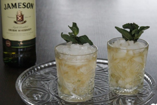 Irish Mint Julep