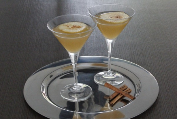 Cinnamon Apple Jack Martini