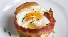 Bacon and Egg muffins