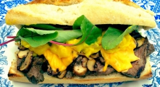 The Lion Cheats – Cheddar Steak Sandwich