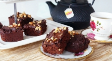 High tea recept: glutenvrije brownies