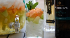 Elderflower Melon Punch