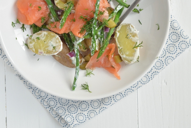 Recept Voor Aardappelsalade Met Zalm Foody Nl
