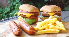 Vegetarisch hamburger recept voor de BBQ