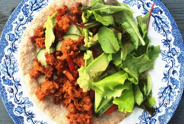 Easy Mondays – Chorizo wraps