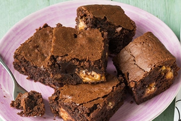 Snicker-brownies