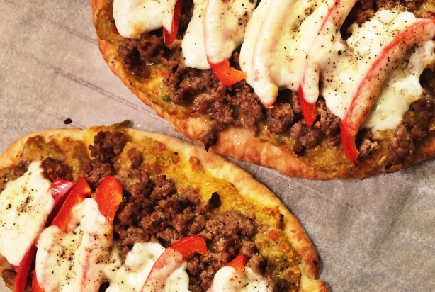 Easy Mondays – Naanpizza's