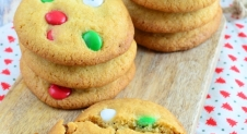 Kerst chocolate chip cookies